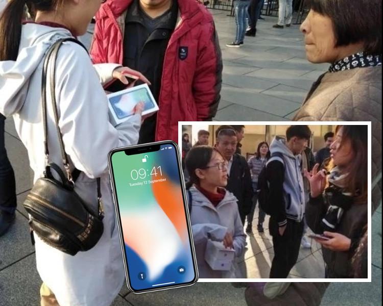 北京首名取機女士查詢得來,一度只有100人民幣「水位」。