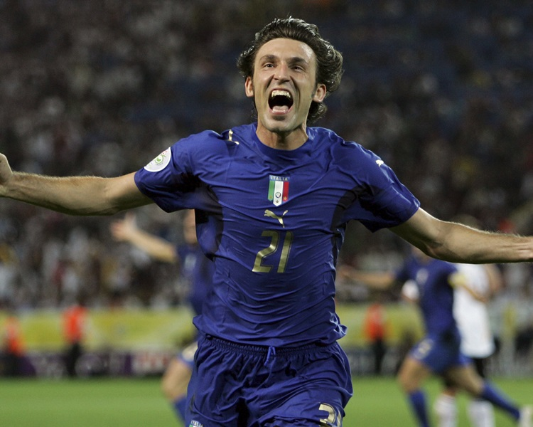 意大利中場派路宣佈退役,結束22年足球生涯。AP