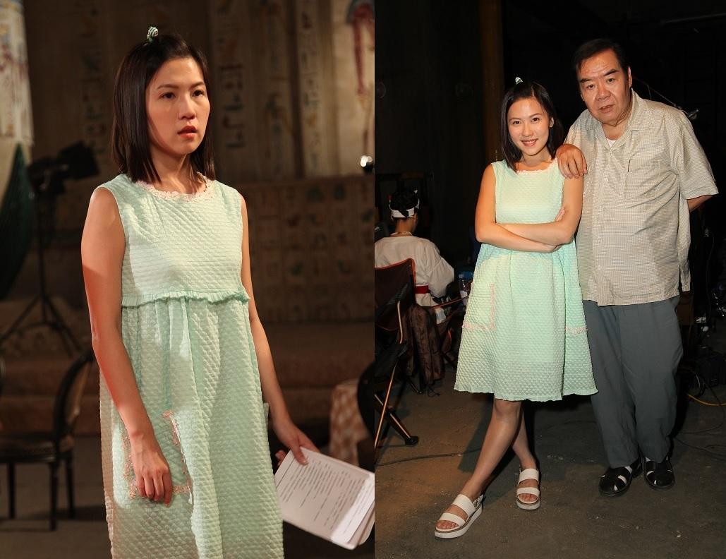 王子涵最近夥拍鄭則士參演無綫新劇《荷里活有個大老千》 ,劇中扮演兩父女。