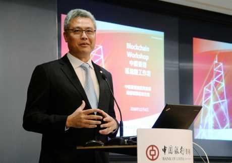 中銀香港資訊科技部總經理鄭松岩。