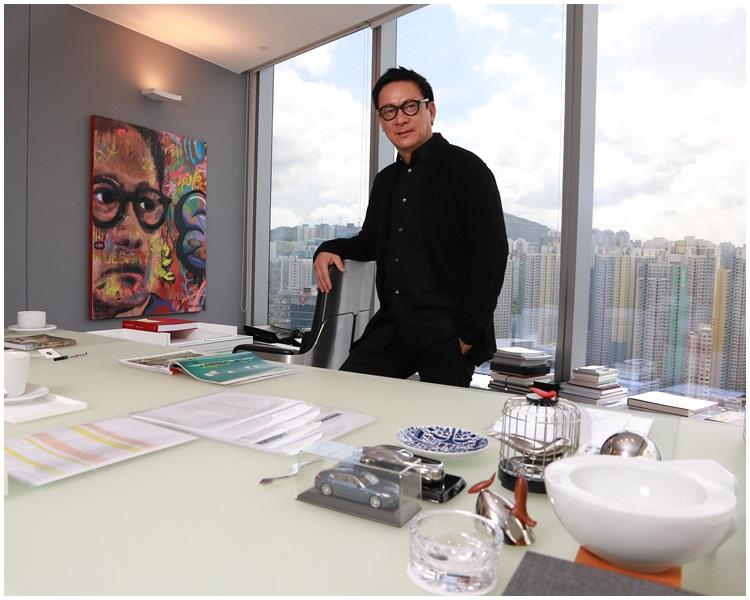 香港建築及室內設計師梁志天。資料圖片