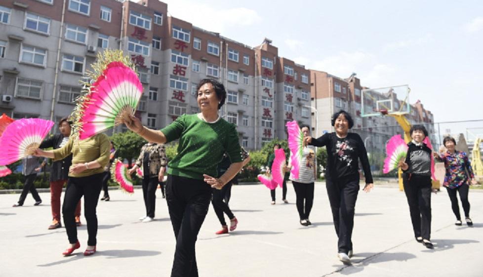 大媽舞曾被指影響學生考試溫習。新華社