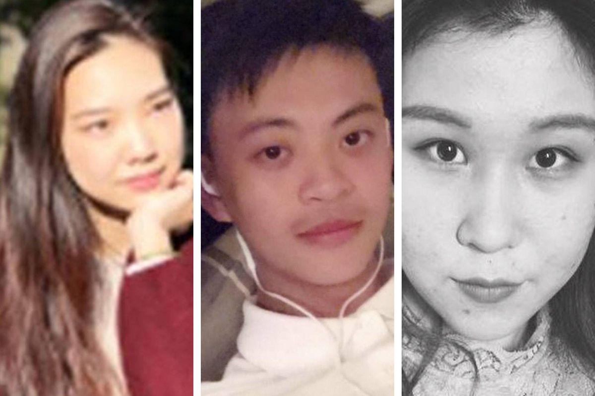 (左起)張文娟、 徐珂及劉悅已與警方聯絡。