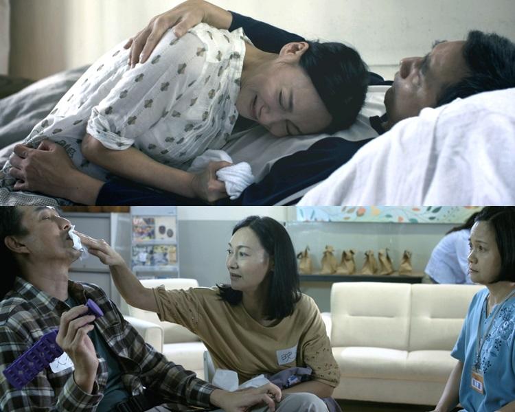 惠英紅飾演10多年來照顧全身癱瘓丈夫的角色,問鼎電視大獎視后。