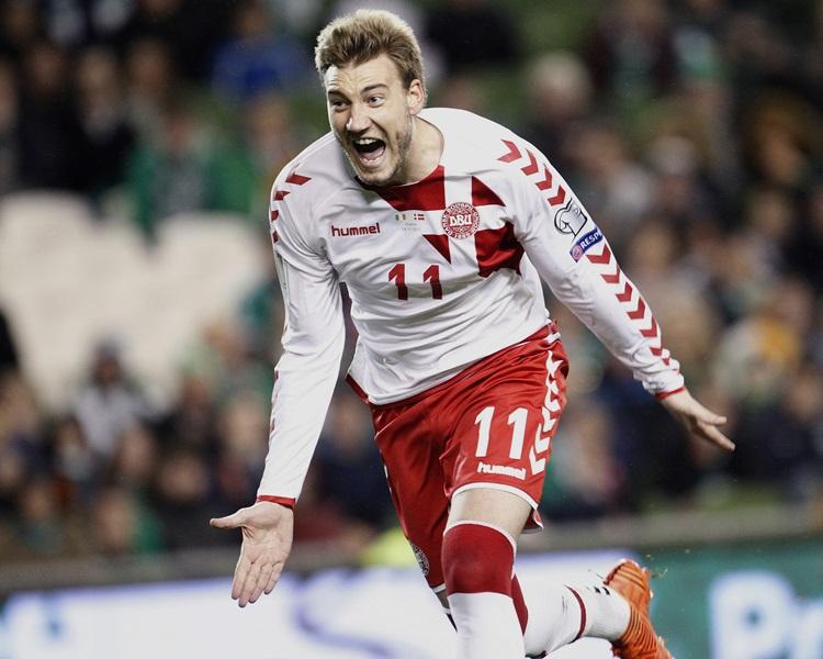 丹麥殺入決賽周。AP