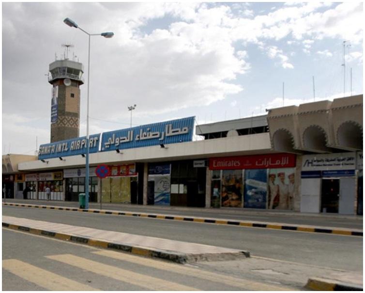 也門首都薩那機場。網圖