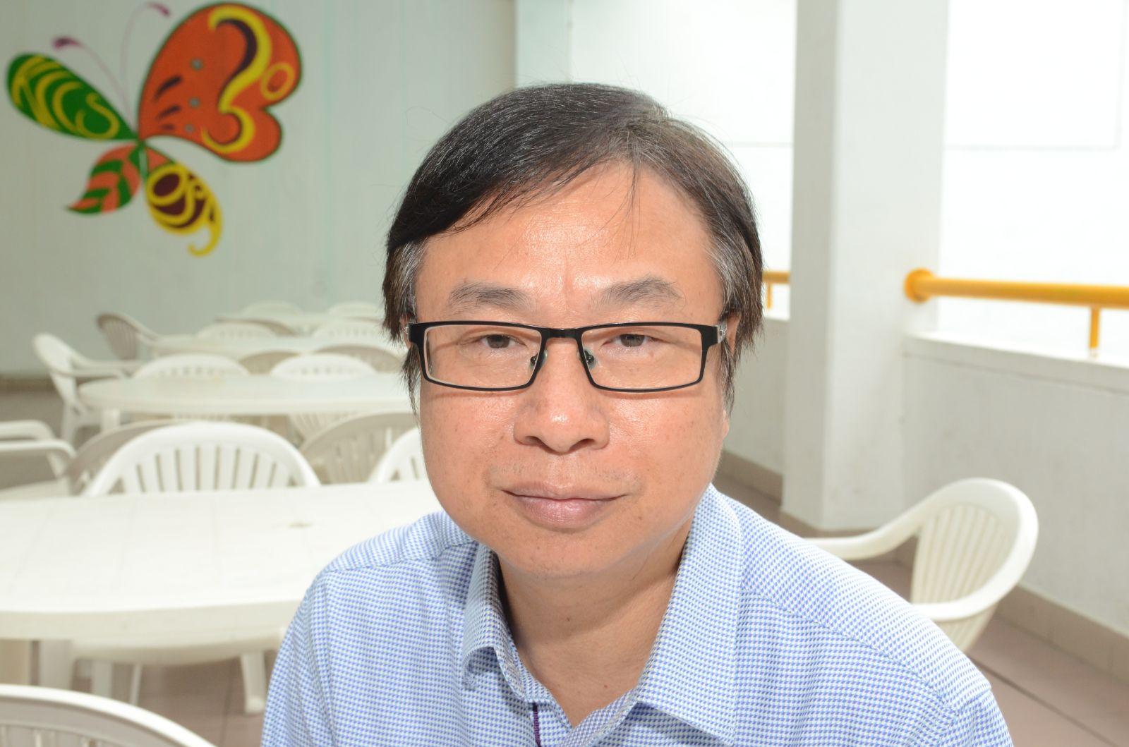 沙田蘇浙公學副校長劉志業。