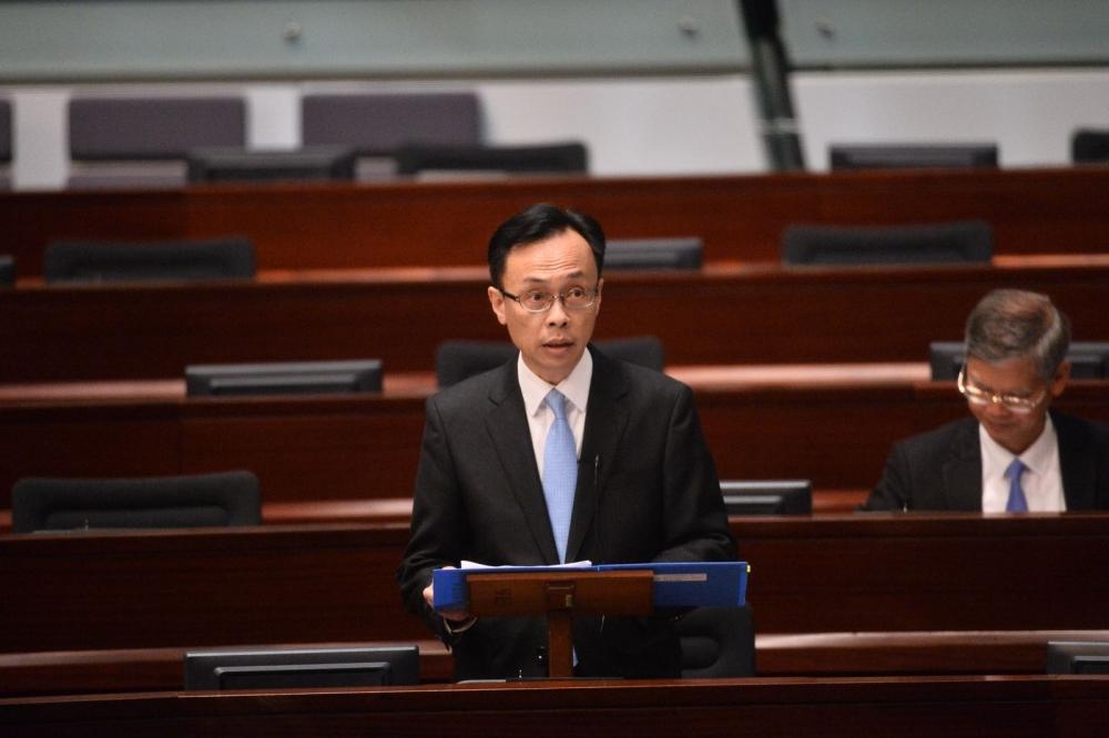 聶德權表示中央香港擁全面管治權,屬應有之義。