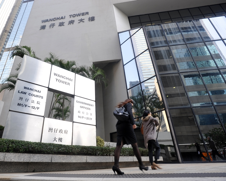 法官斥3名被告行為損害香港社會及聲譽,而案件明顯有組織及有計劃。資料圖片
