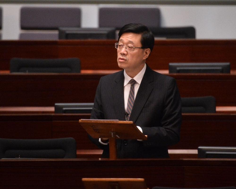 李家超表示入境事務屬香港事情,外國政府無權干預。
