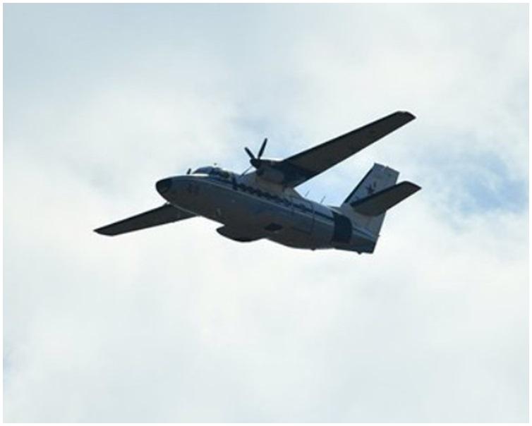 與肇事小型飛機同型號的L-140小型機。