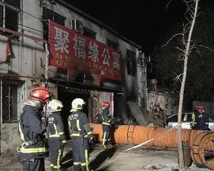 大興區新建村的「多合一」聚福緣公寓大火造成19死8傷。