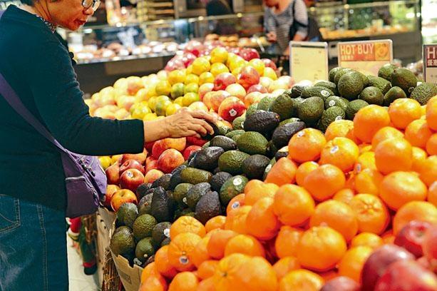 衛生署調查發現94%市民每日食少於五份蔬果。資料圖片