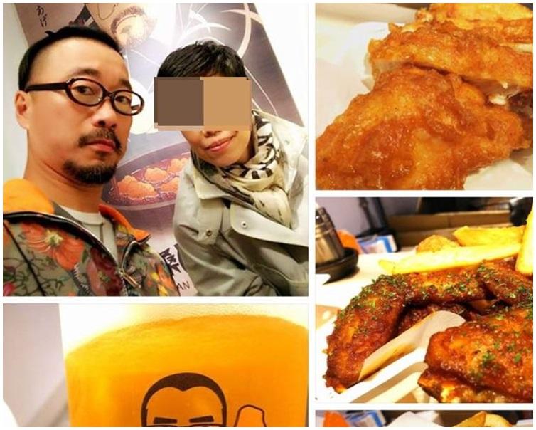 王利民facebook上載正與妻子在台灣渡假中。圖:facebook