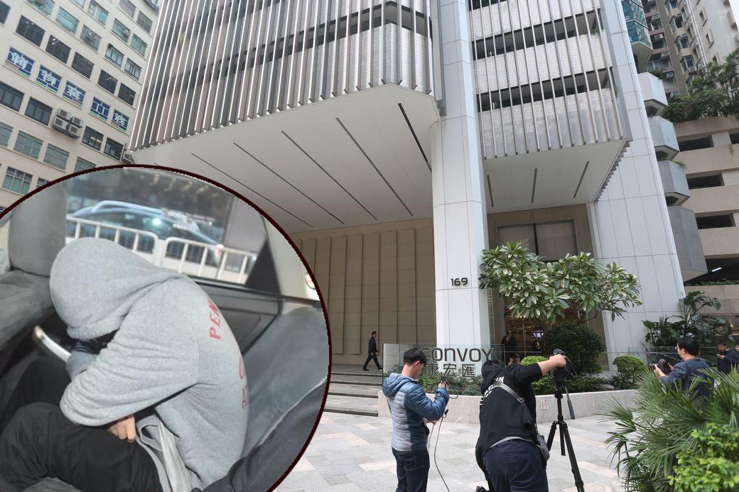 廉政公署人員今早帶走副主席馮雪心。