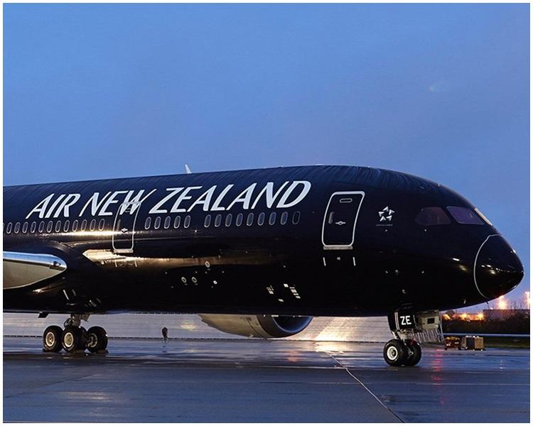 紐西蘭航空公司有客機引擎異常。網圖