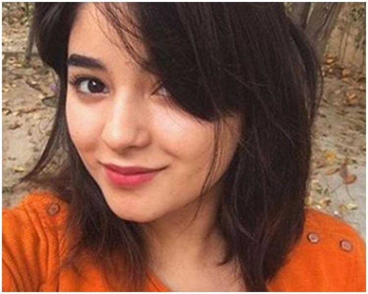 在《打死不離三父女》中飾演女主角童年的17歲演員扎伊拉(網上圖片)