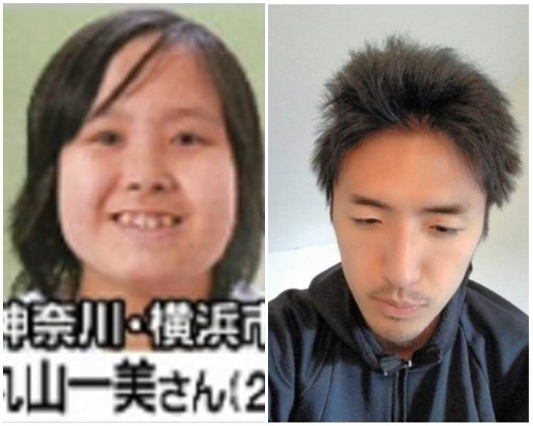 新的受害人丸山一美(左)和兇手白石隆浩(網上圖片)