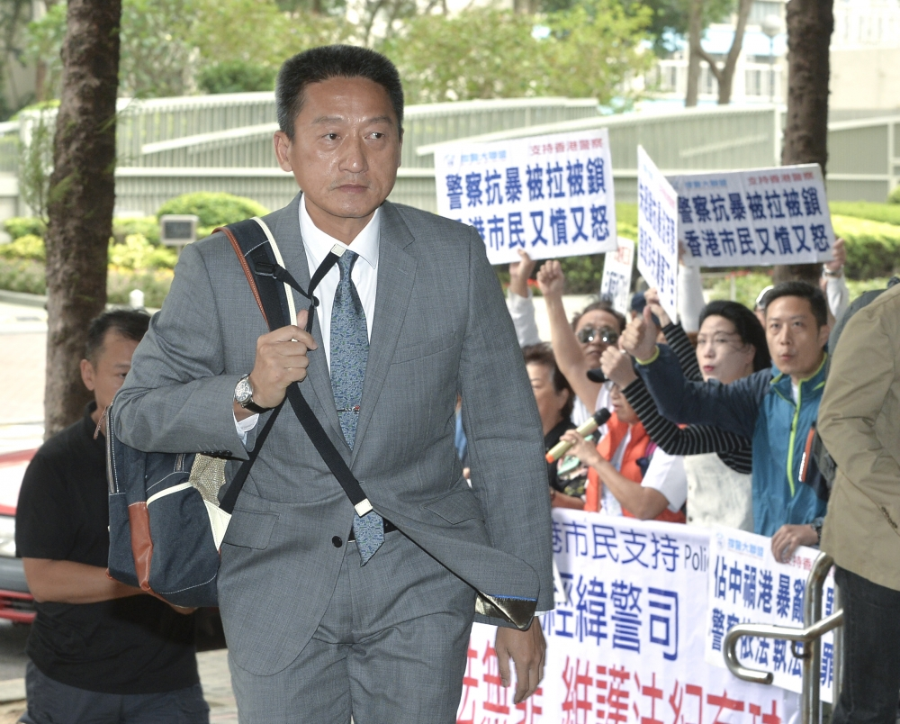 退休警司朱經緯。資料圖片