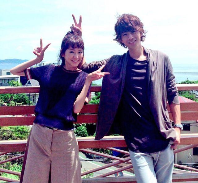 桐谷美玲與三浦翔平去年合拍日劇《有喜歡的人》擦出愛火。