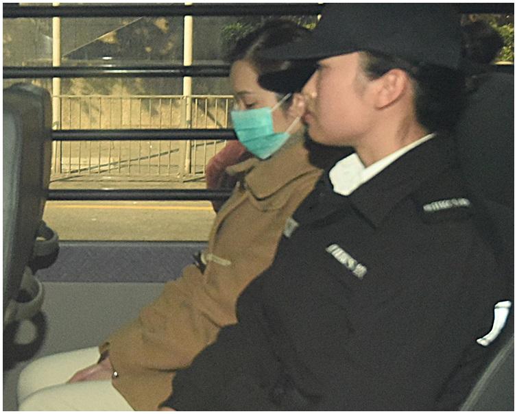 羅允彤(左)現正服刑。資料圖片