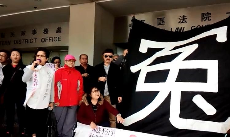 有人指不能被外國勢力滲透香港。黃梓生攝