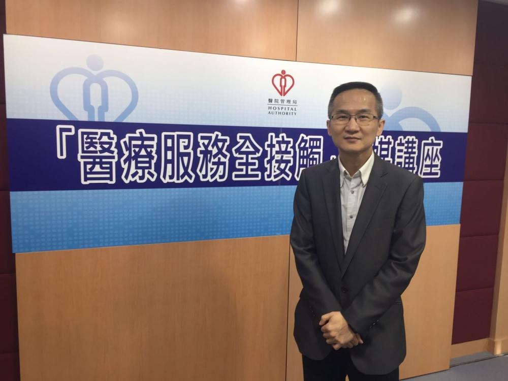 醫管局臨床傳染病治療專責小組主席曾德賢。
