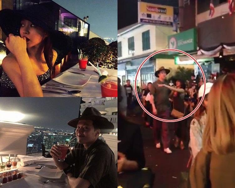 二人剛拍拖遊泰國,現卻稱已分手。