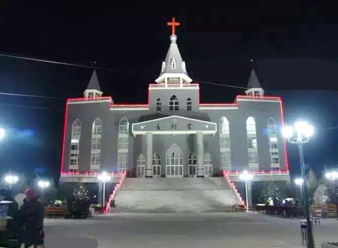 教堂原貌。網圖