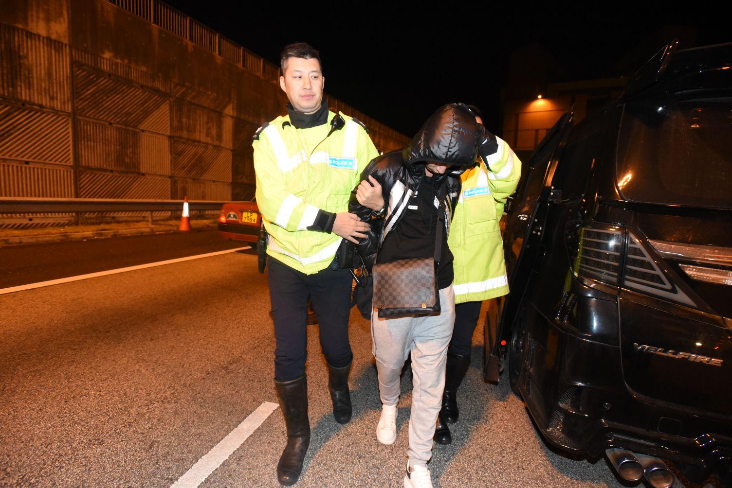 警方拘捕涉案司機。