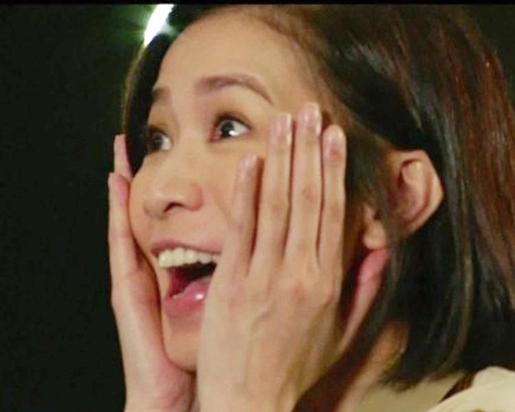 《誇世代》大結局,阿佘驚喜現身。TVB截圖