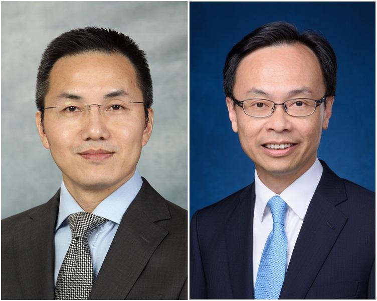 鄧忍光(左);聶德權。