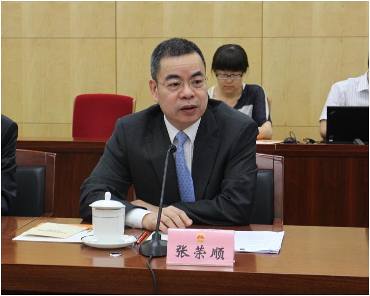 張榮順批評香港有部分人將一地兩檢政治化。