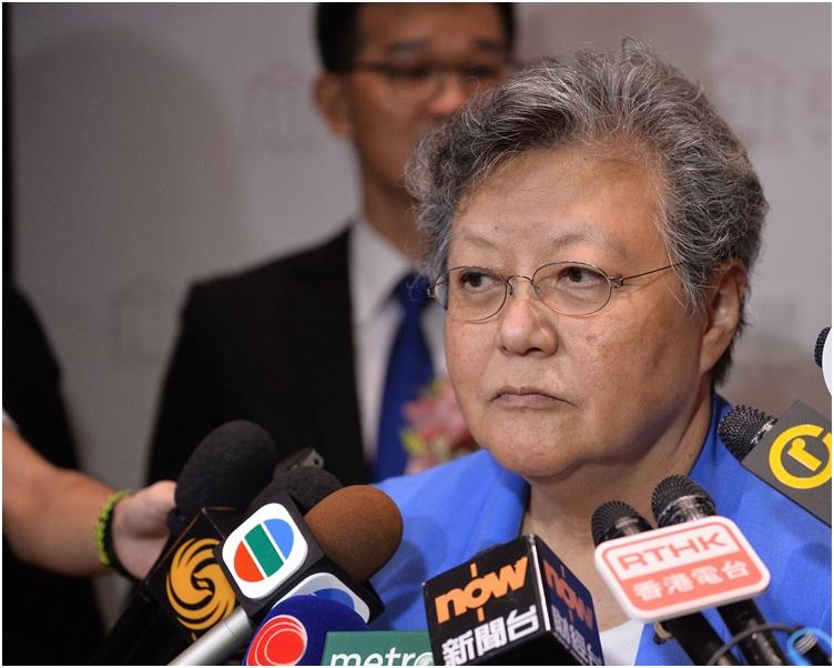 范徐麗泰強調,全國人大常委會不會害香港。