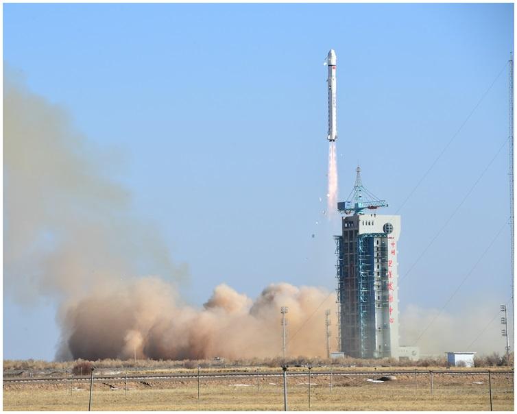 衛星順利進入預定軌道。 新華社