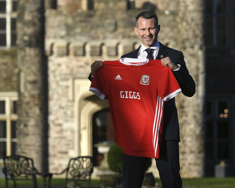 曼聯名宿傑斯獲委任為威爾斯國家隊領隊。AP