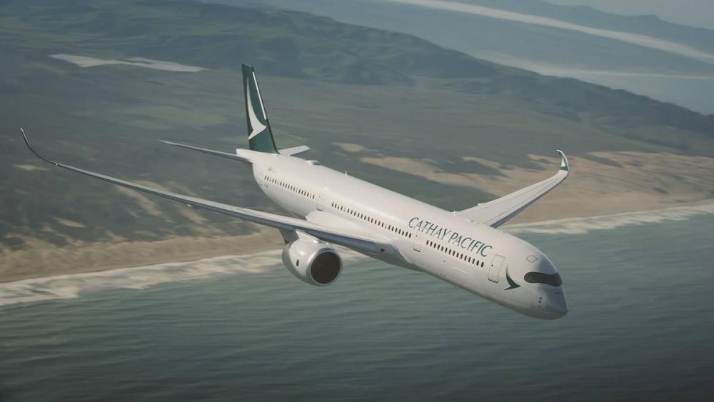 國泰航空。網上圖片