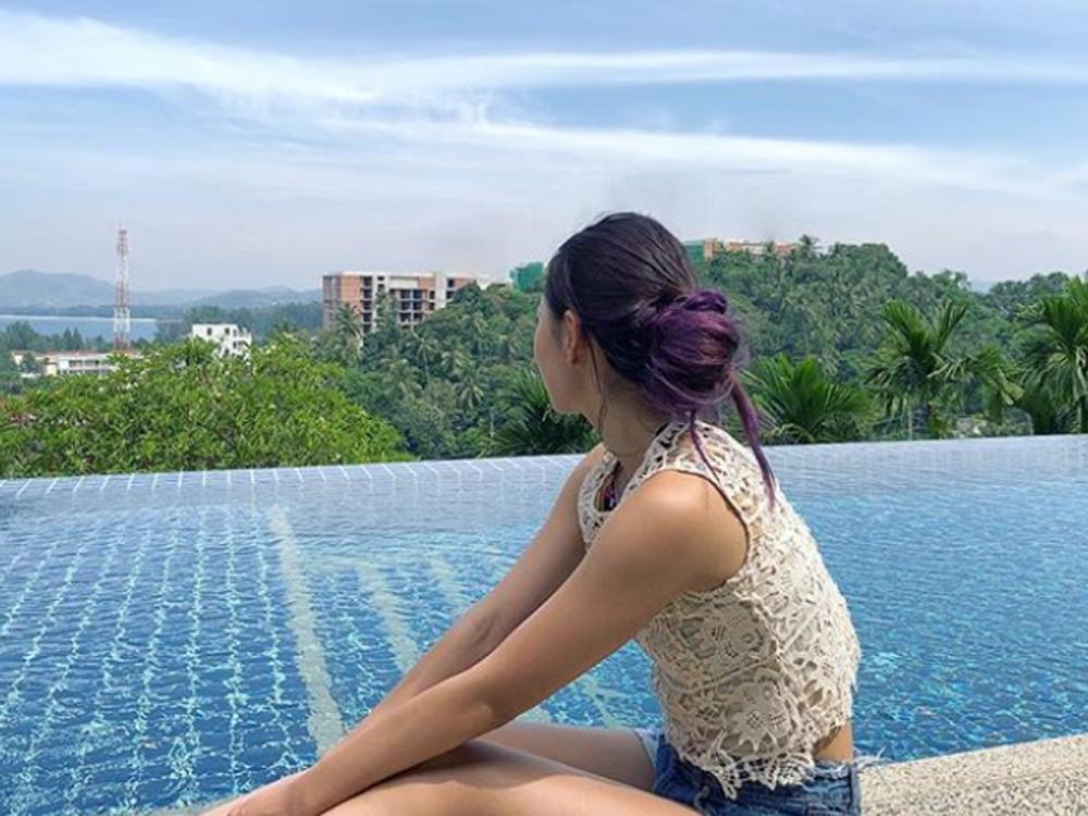 Robynn最近到泰國旅行充電。