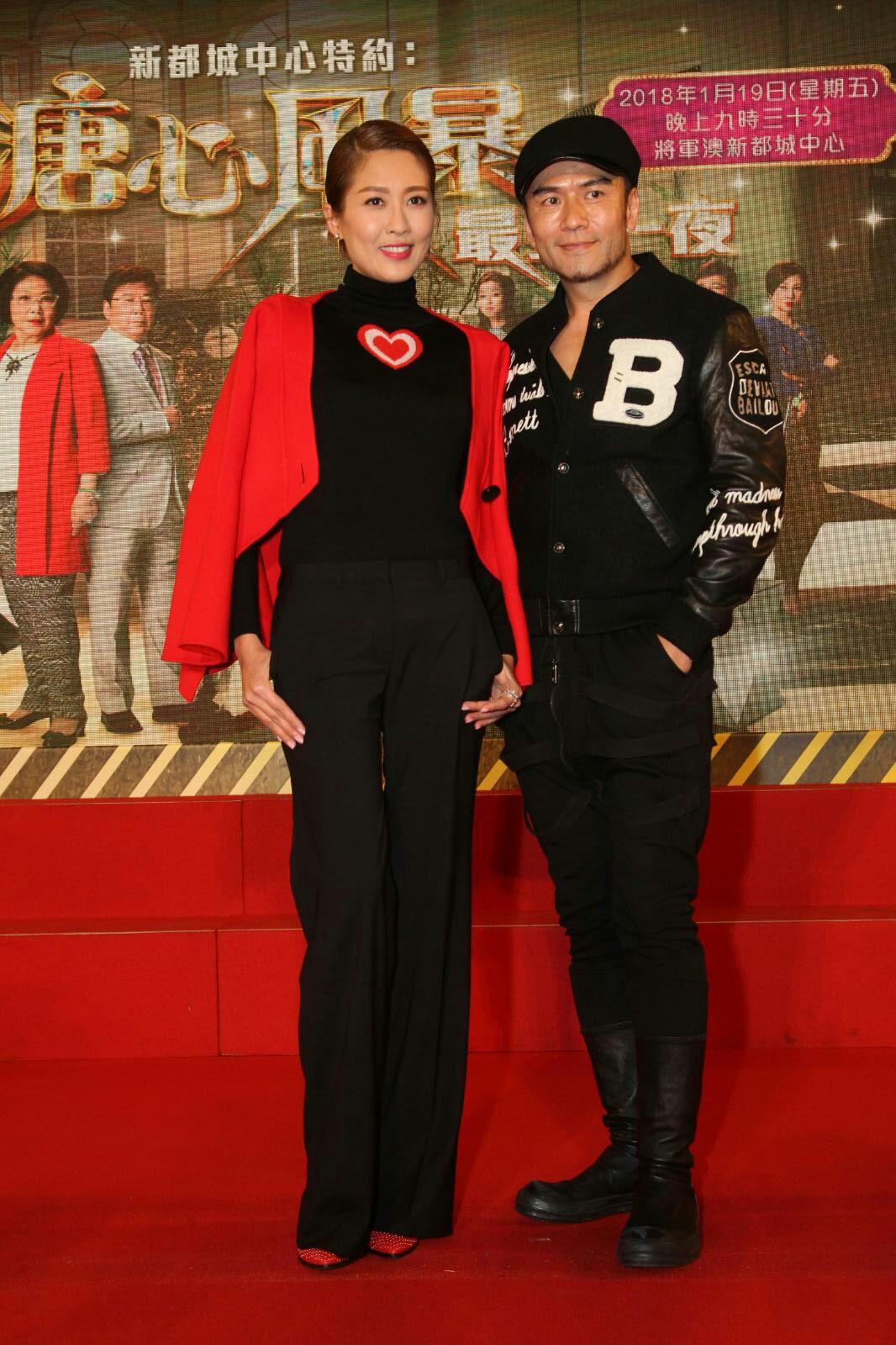 唐文龍和陳敏之在劇中感情線掀起熱話。