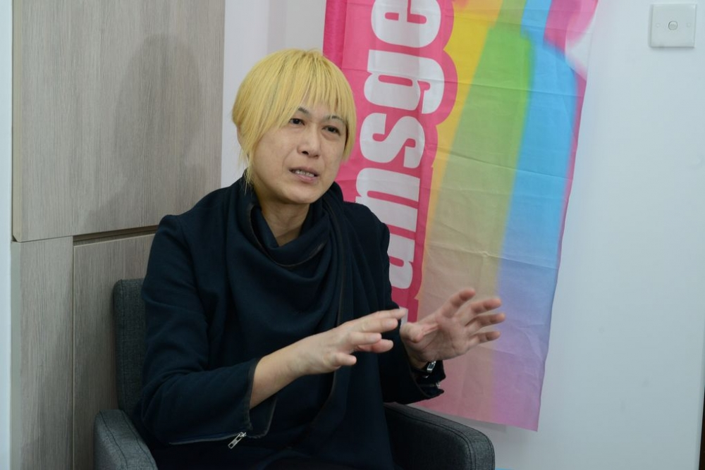 訪問跨性別資源中心主席梁詠恩。
