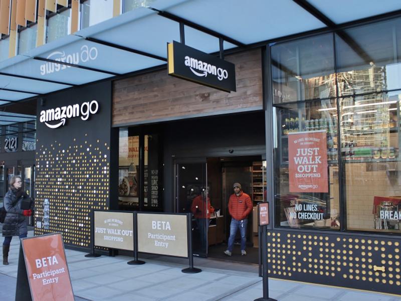 Amazon Go無人商店,於今日(22日)在西雅圖正式對外營業。(網圖)