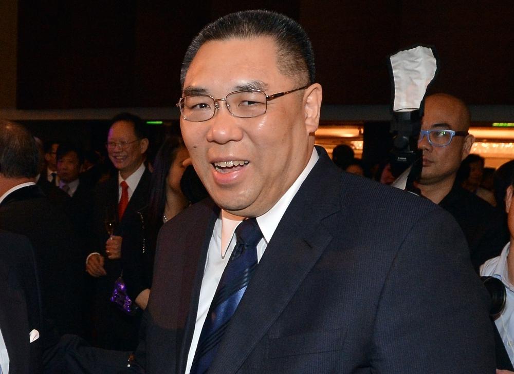 澳門行政長官崔世安。資料圖片