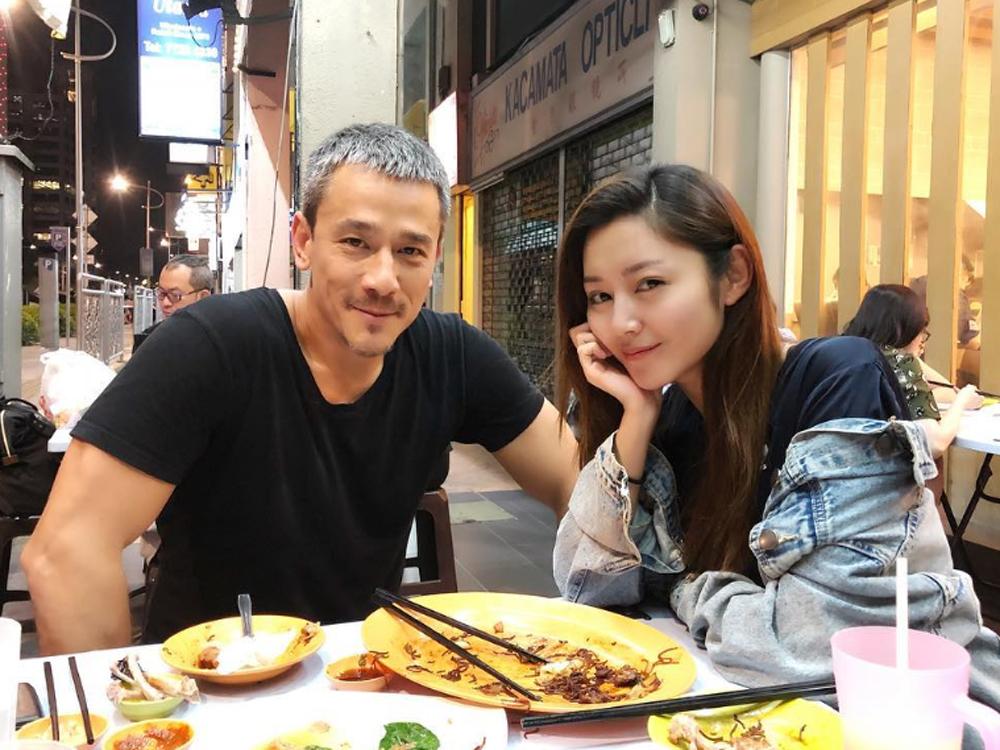 Michelle與吳嘉龍到馬來西亞拍新戲。