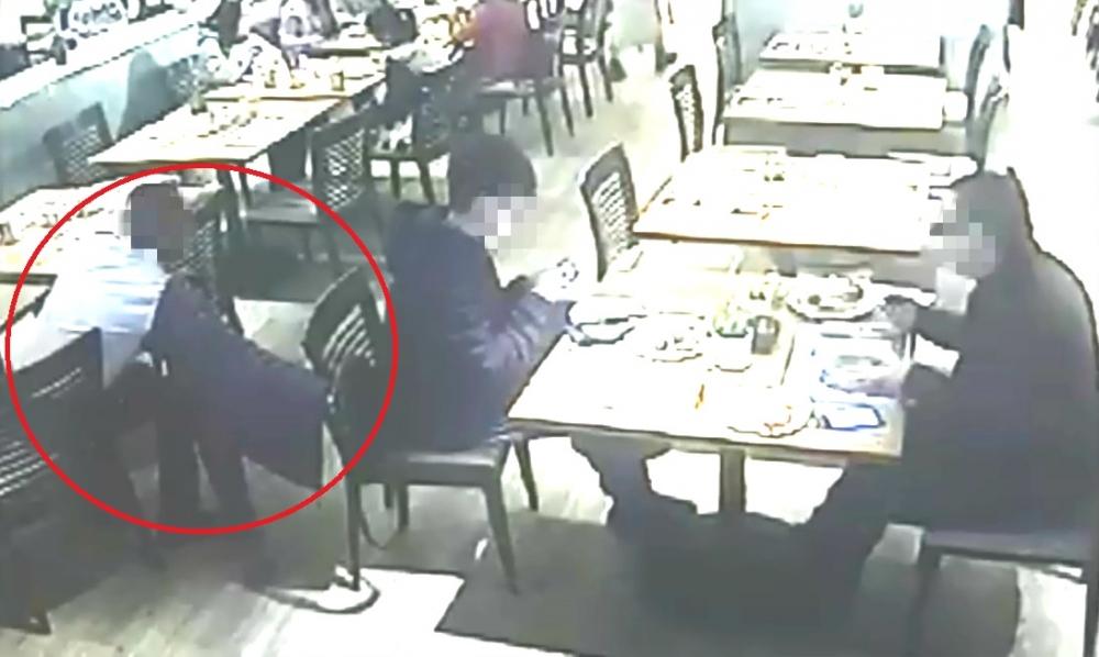 尖沙嘴餐廳有扒手掠走食客椅背袋。網上圖片