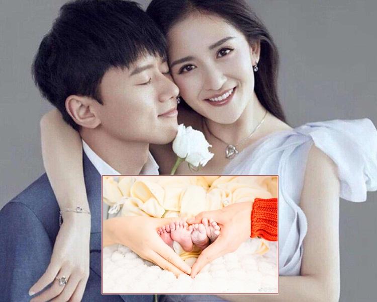 張杰與謝娜婚後6年終於當爸媽了。