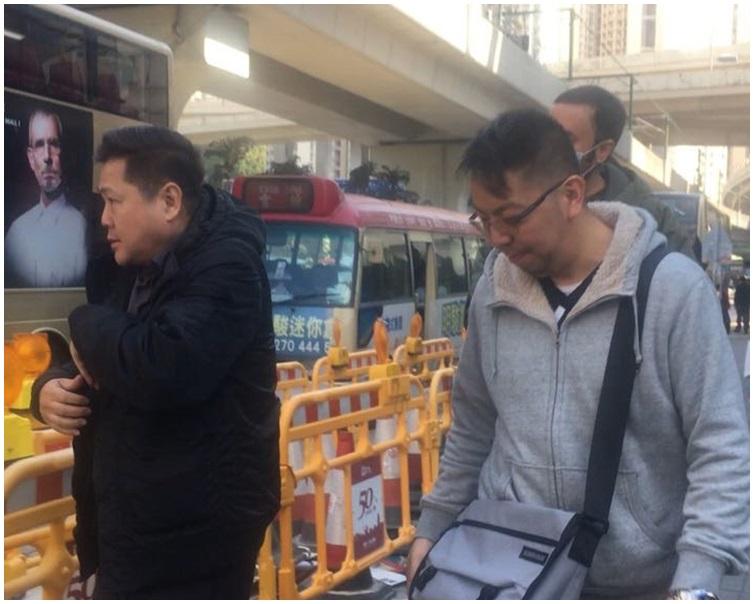 司機梅志輝(左)譚學斌(右)。資料圖片