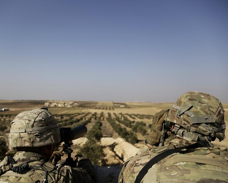 美國現時在敍利亞有大約2000駐軍。AP