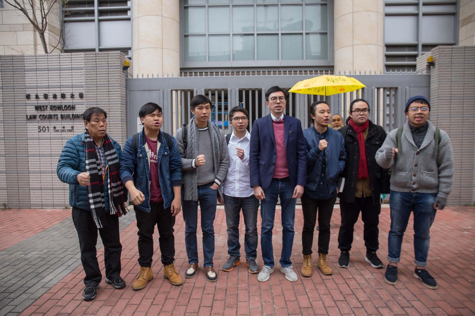 控方申請修訂被告吳文遠控罪。黃梓生攝