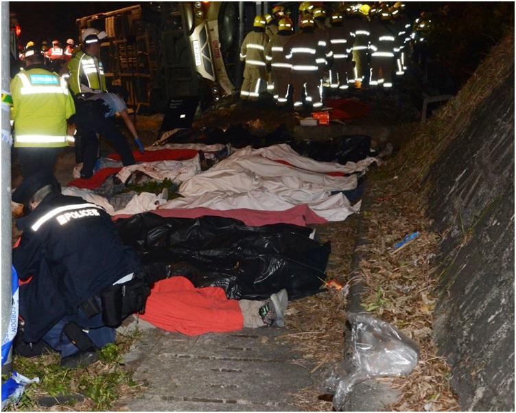 至今仍有3男1女死者未確認身分。