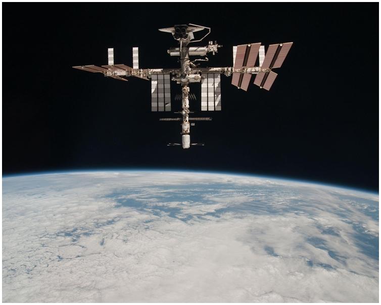 國際太空站 (ISS)。AP